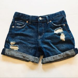 Levi's Destroyed Girlfriend Shorty Short 12